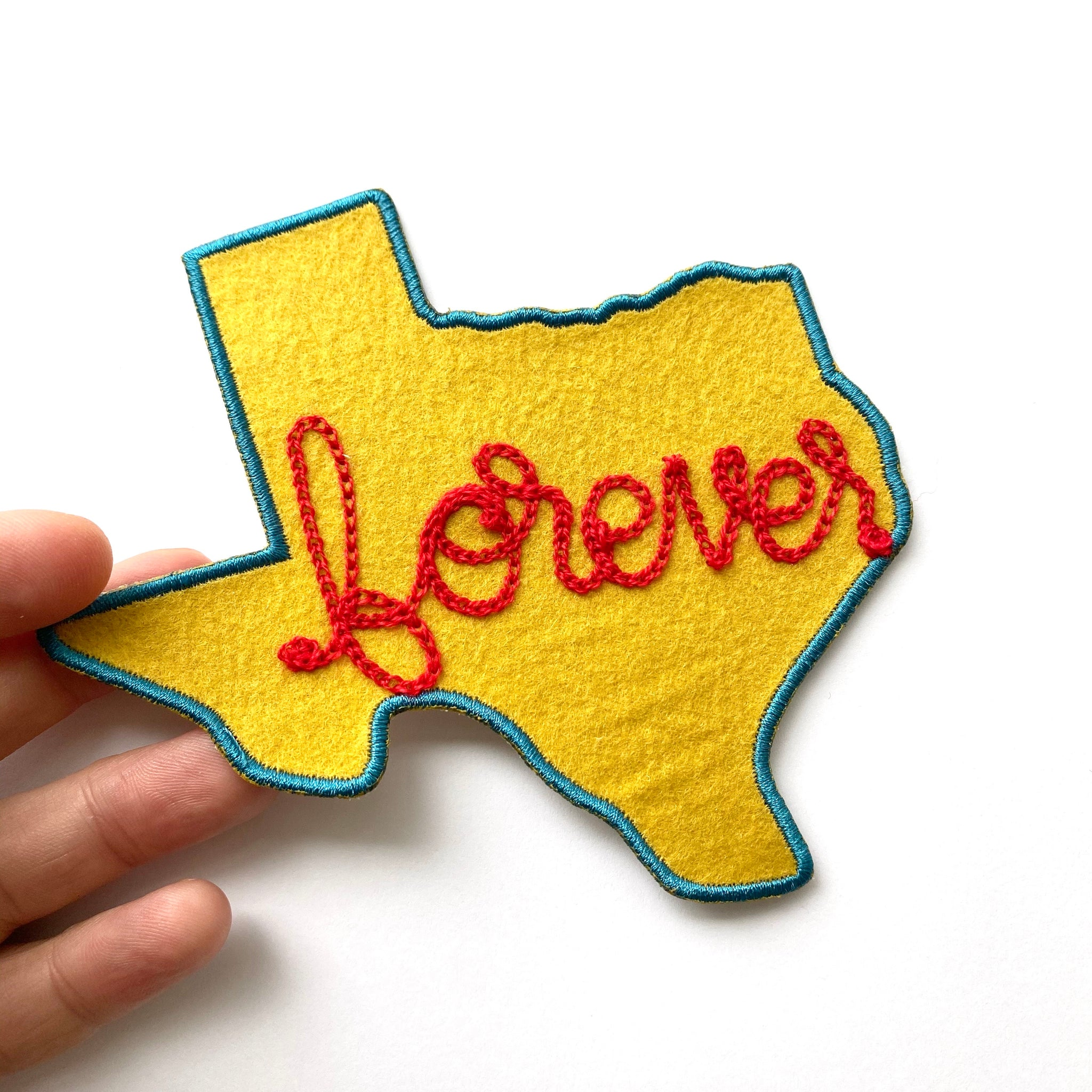 Custom Texas Chainstitch Patch
