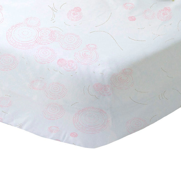 Crib Sheet- Fairy Circle Pink