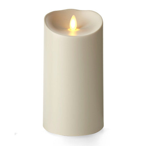 Unscented Outdoor Pillar Candle-7 in.