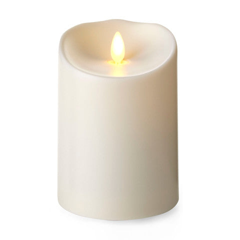 Unscented Outdoor Pillar Candle-5 in.