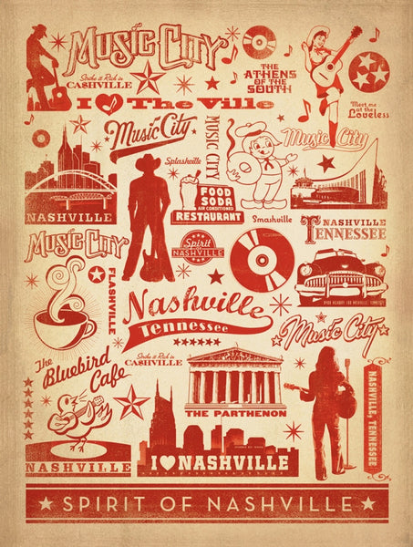 Music City Pattern