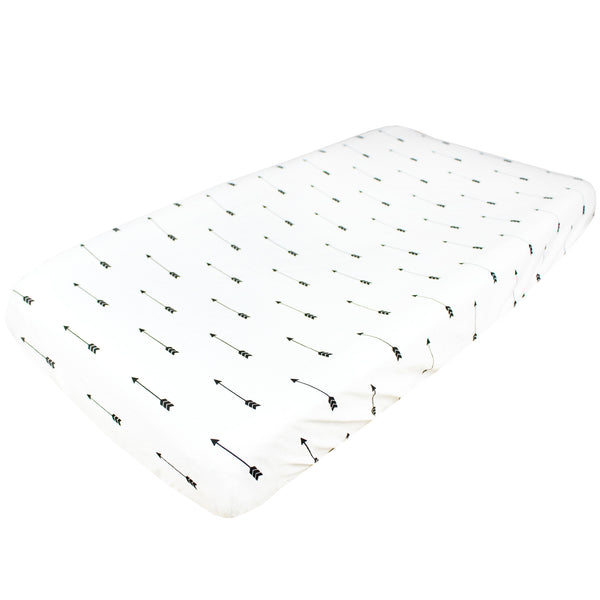 Diaper Changing Pad Cover- Arrows