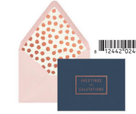 Greetings and Salutations box cards