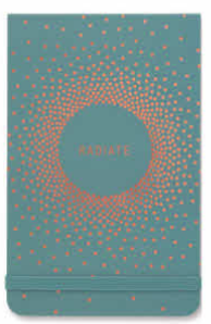 Radiate Teal Purse Note Pad