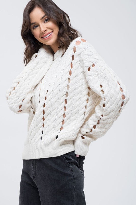 Knit Pullover Ivory