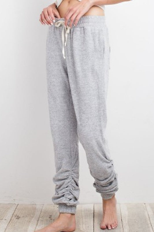 Ruching Sweatpant