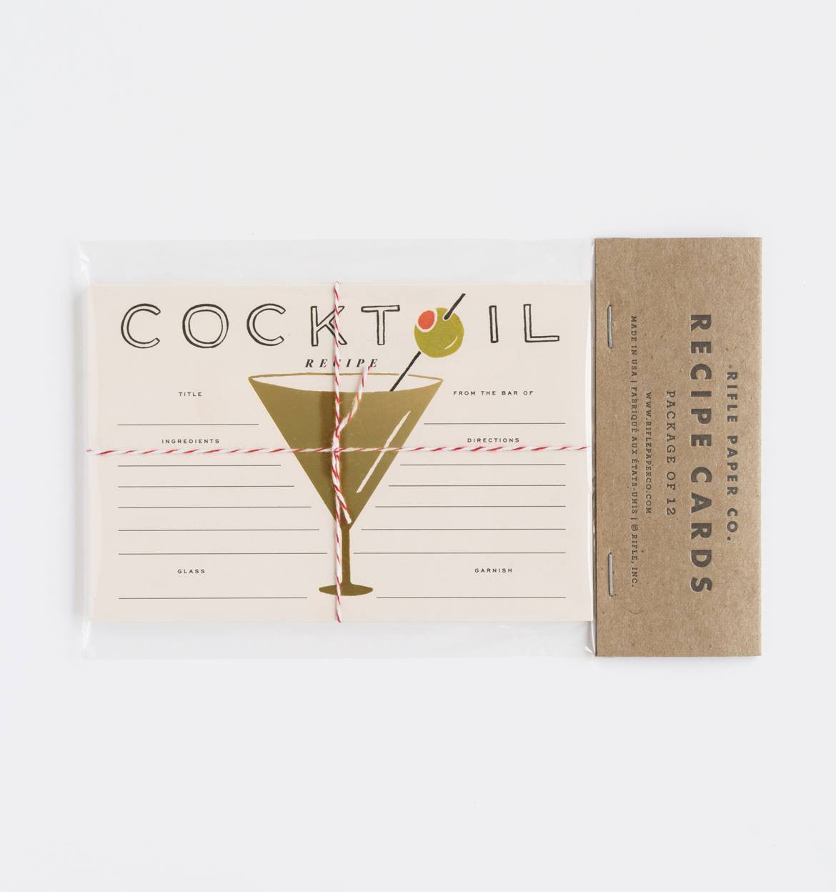 recipe card cocktail the painted house