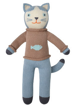 Knit Doll- Sardine the Cat