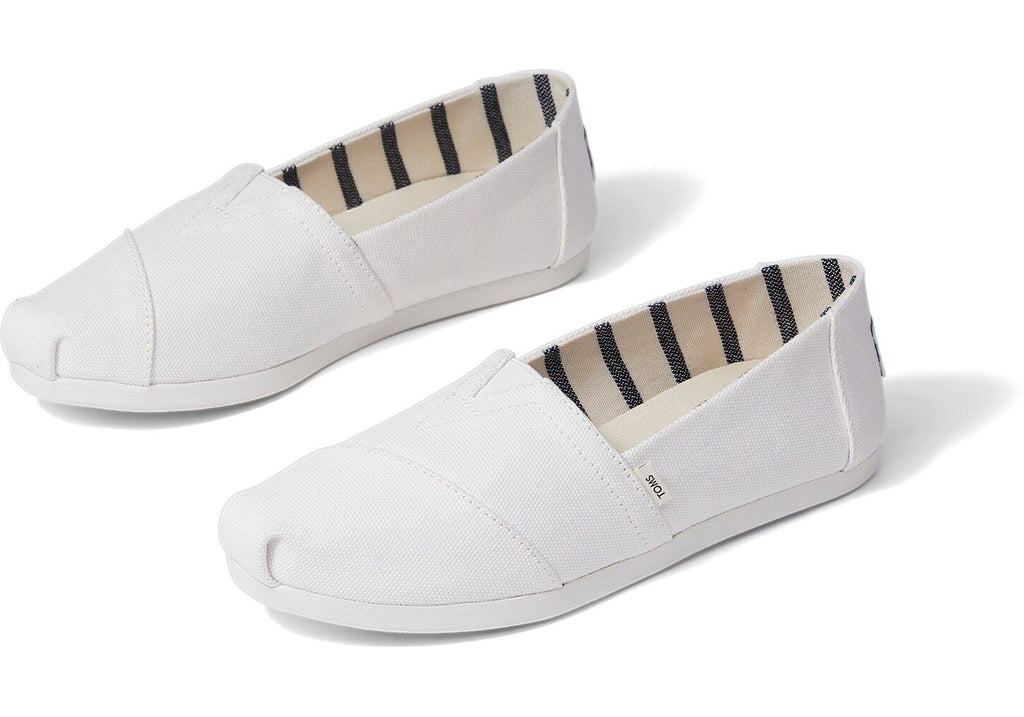 White Heritage Canvas Women's Alpargatas