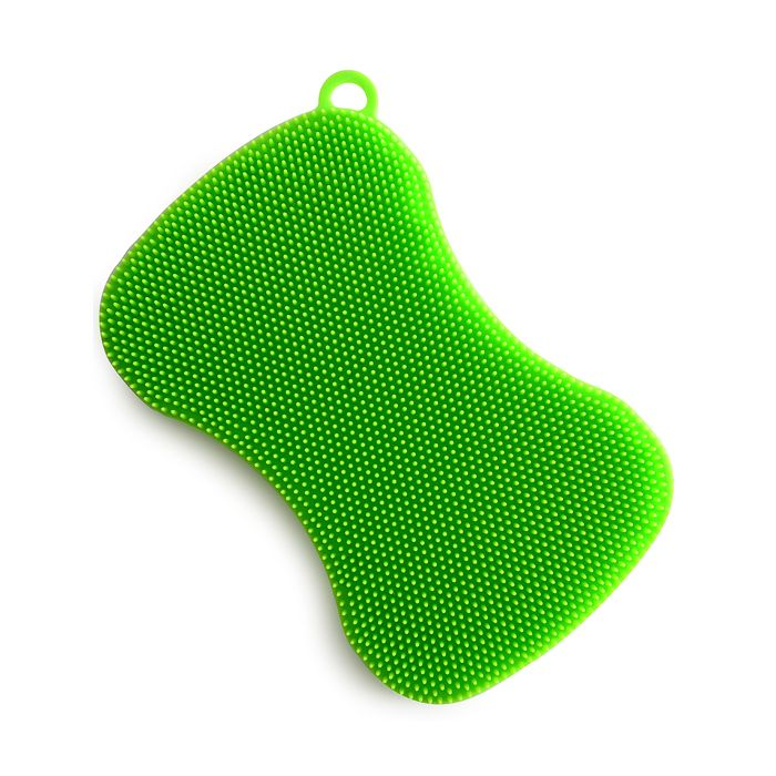 SILICONE DISH BRUSH- GREEN