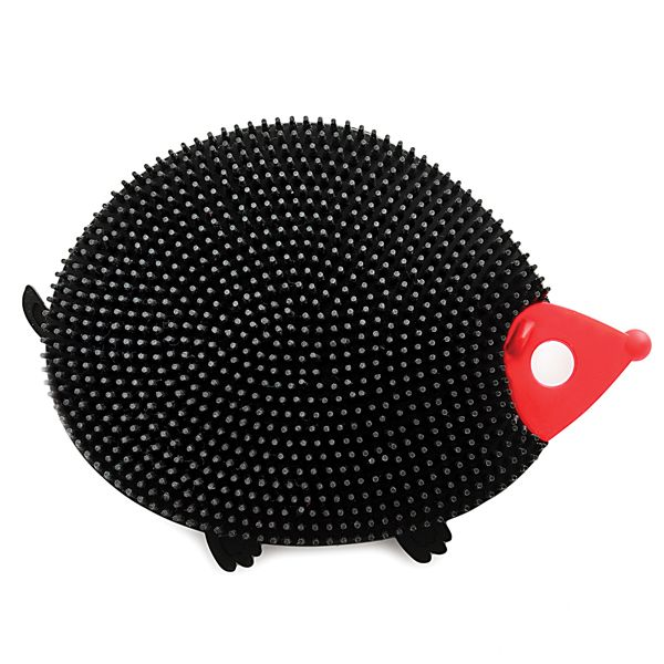 SILICONE DISH BRUSH HEDGEHOG