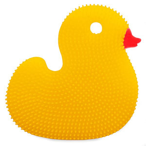 SILICONE DISH BRUSH DUCK