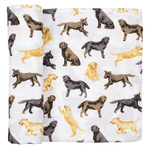 LAB MUSLIN SWADDLE BLANKET