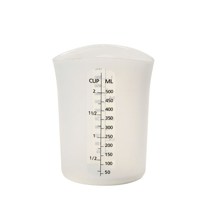 2 CUP SILICONE FLEXIBLE MEASURING CUP