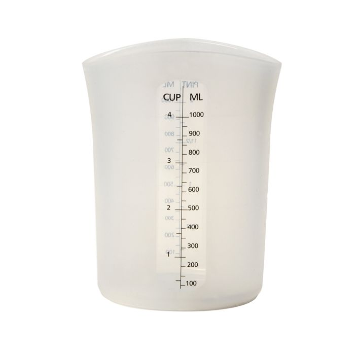 4 CUP SILICONE FLEXIBLE MEASURING CUP
