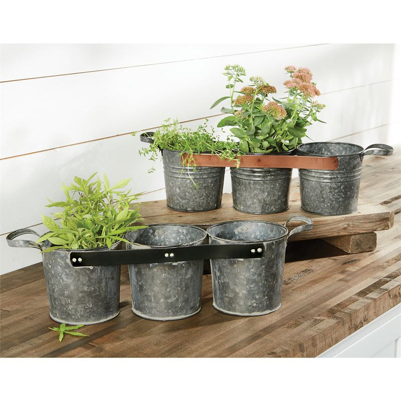 TRIPLE POT CADDIES