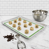 "TRUE BAKE 16.5"" X 11.5"" HALF-SHEET BAKING MAT- GREEN"