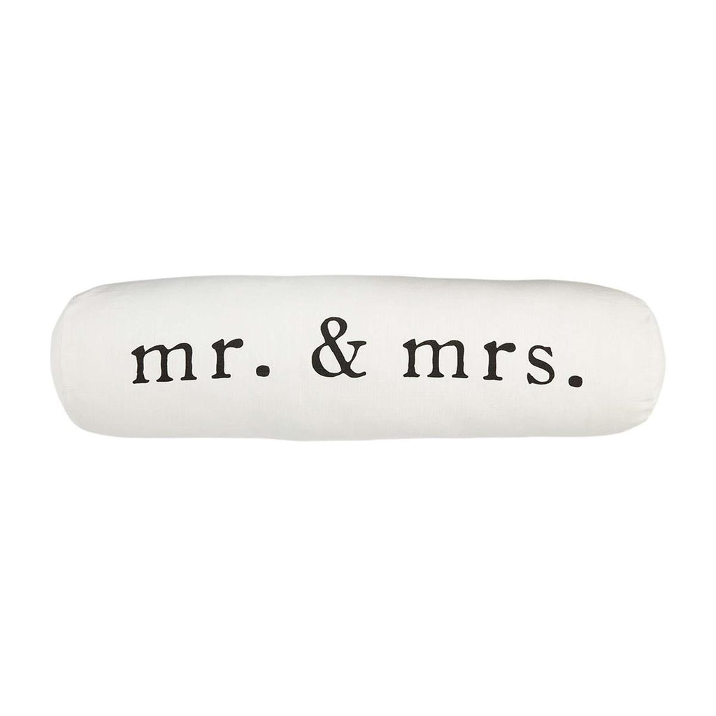 Mr. and Mrs. Bolster Pillow