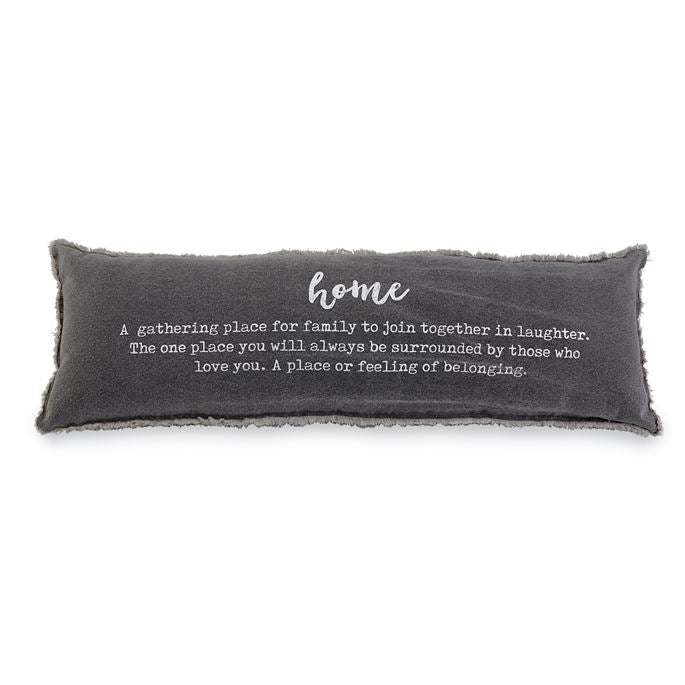 HOME DEFINITION WASHED CANVAS PILLOW