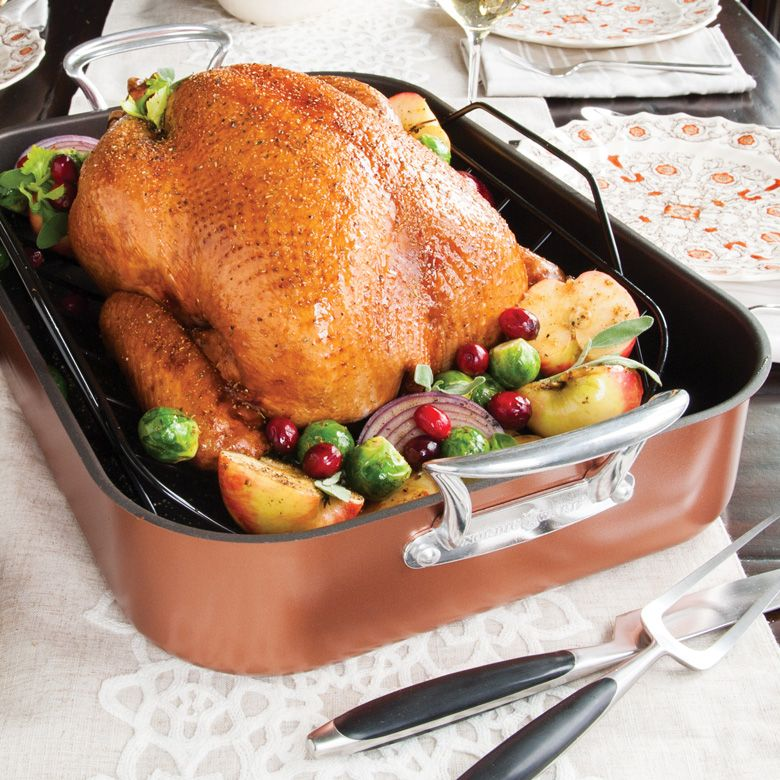 Copper Extra Large Turkey Roaster *Store Pick-Up ONLY*