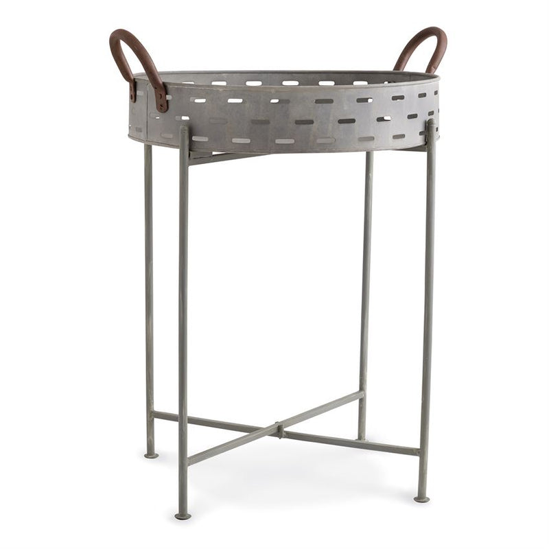 TIN PERFORATED TABLE- In store pick-up only