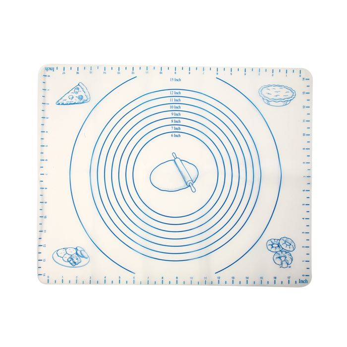 SILICONE PASTRY MAT W/ MEASURES