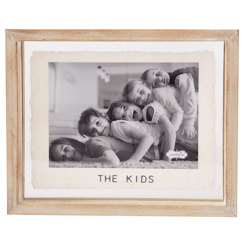 "5""x7"" The Kids Glass Frame"