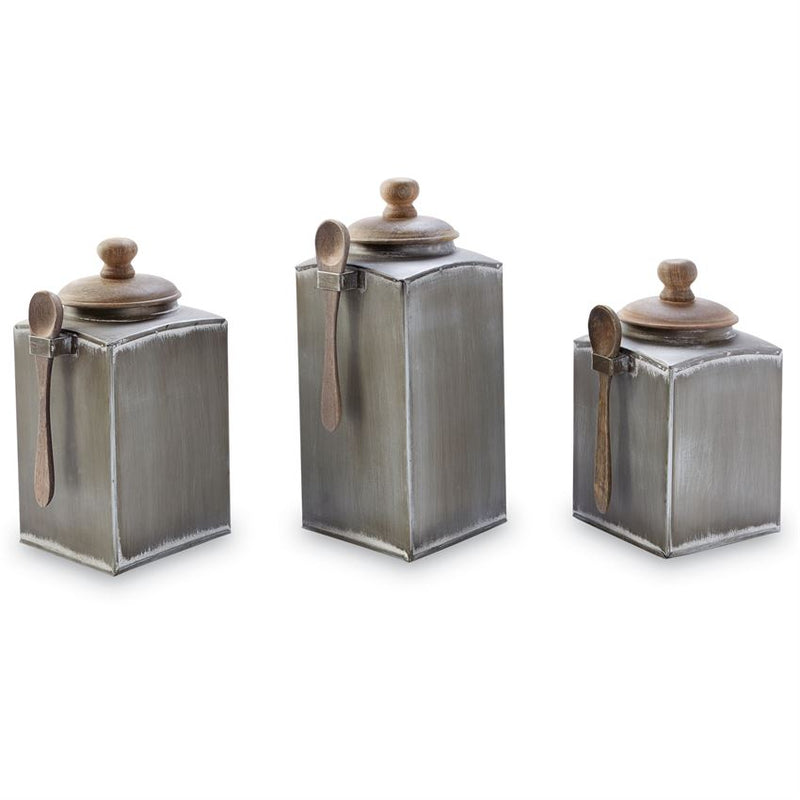 TIN CANISTER SET