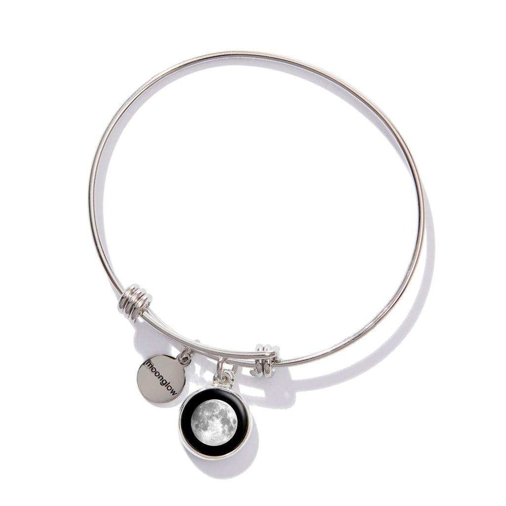 Moonstock Bangle Charm Bracelet