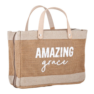 AMAZING GRACE BIBLE COVER TOTE