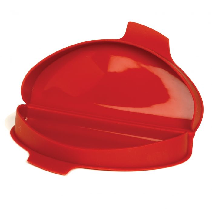 SILICONE MICROWAVE OMELET MAKER