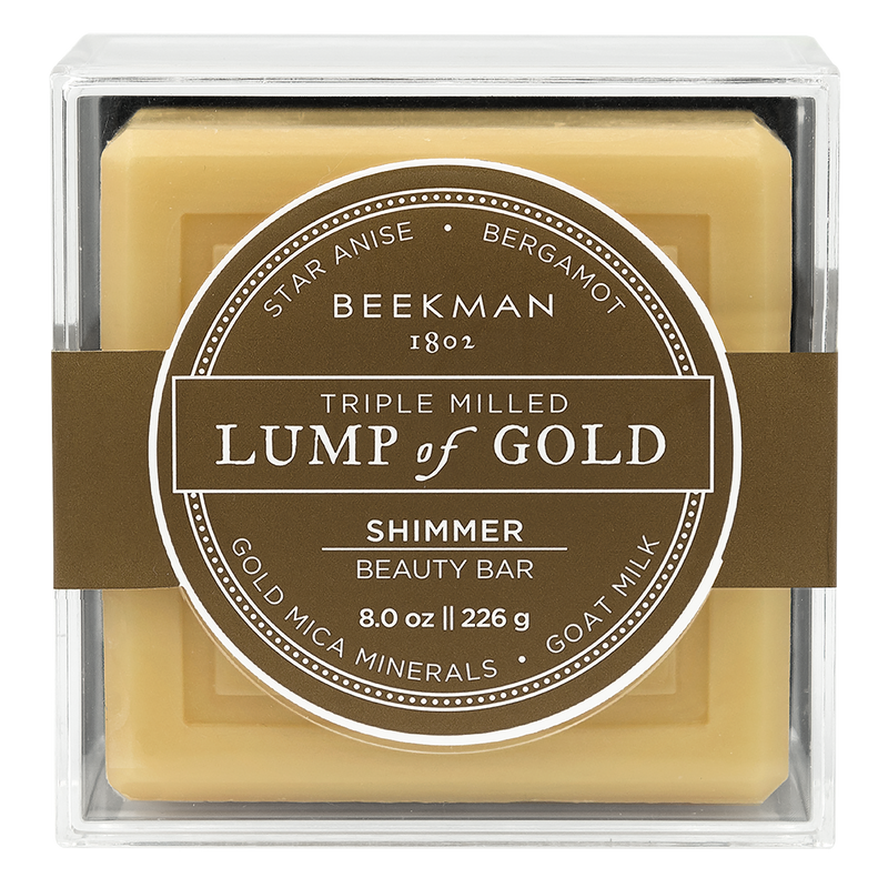 BEEKMAN LUMP OF GOLD BAR SOAP