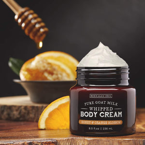 HONEY & ORANGE BLOSSOM WHIPPED BODY CREAM