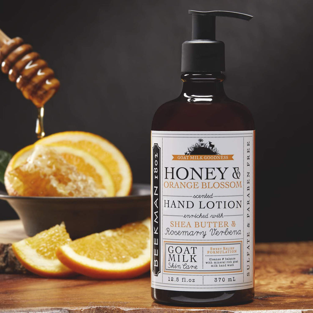 HONEY & ORANGE BLOSSOM HAND LOTION 12.5 OZ.