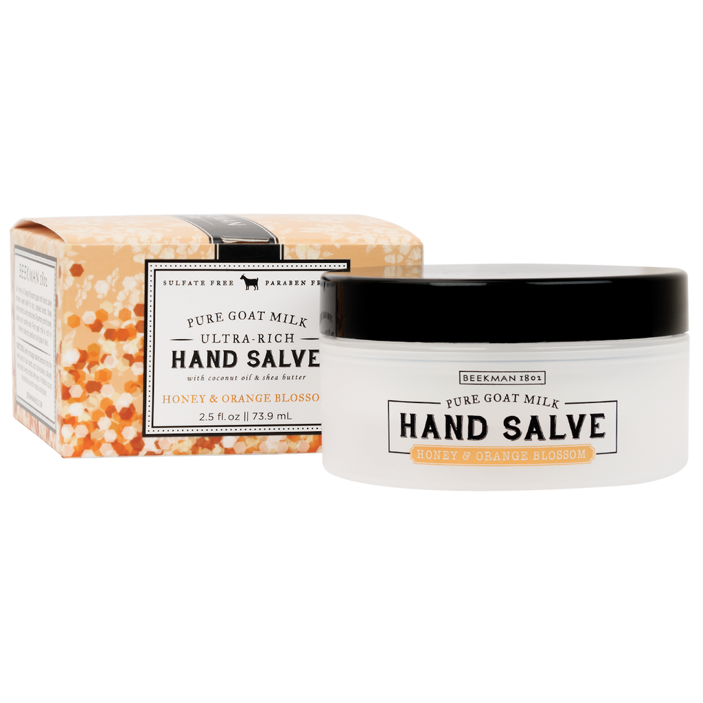 HONEY & ORANGE BLOSSOM HAND SALVE