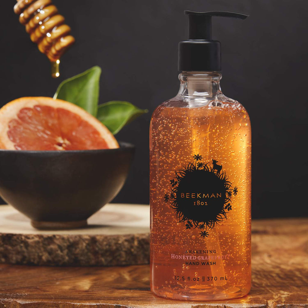 HONEYED GRAPEFRUIT AWAKENING HAND WASH 12.5 OZ.