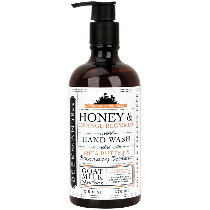 HONEY & ORANGE BLOSSOM HAND WASH 12.5 OZ.