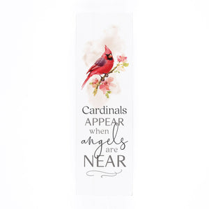 Cardinals Appear When Angels Are Near Shelf Sitter