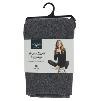 Grey Fleece Lined Leggings