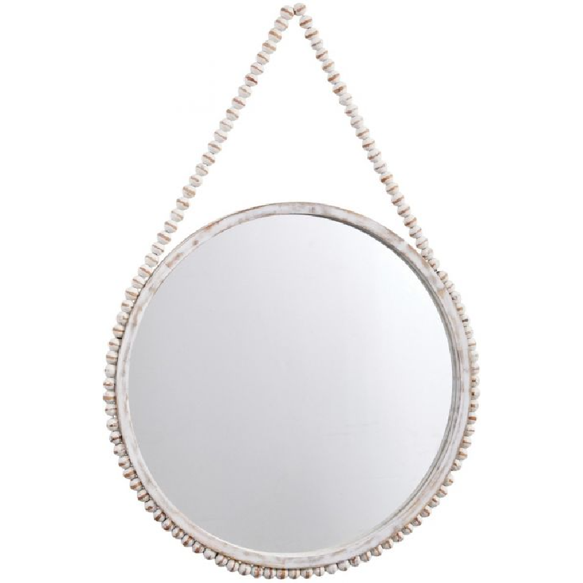 Beaded Hanging Mirror *Store Pick-Up Only*