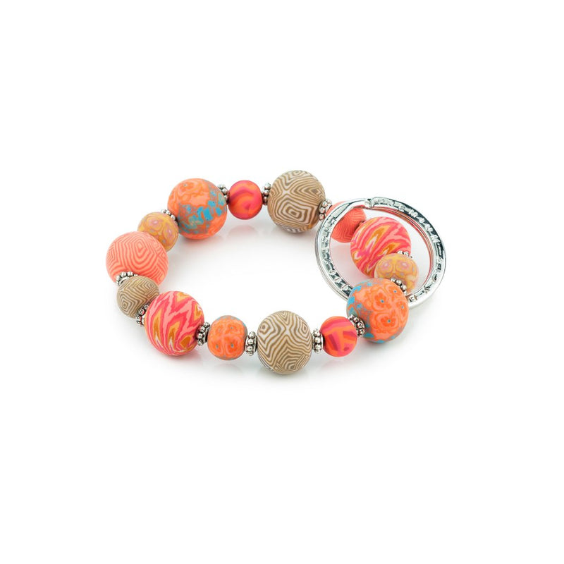 CORAL SMALL WRIST KEYCHAIN