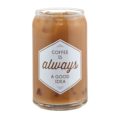 ICED COFFEE GLASS - GOOD IDEA