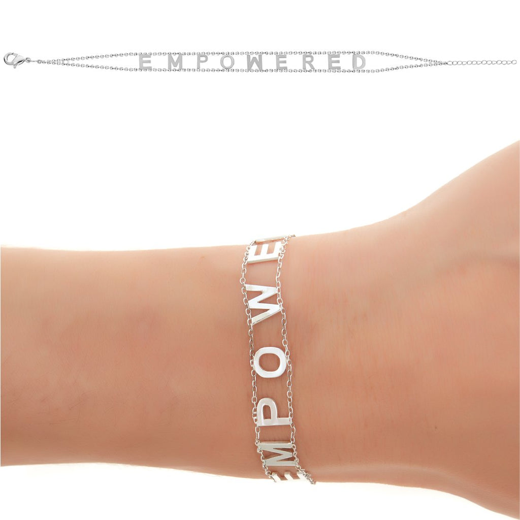 EMPOWERED Bracelet- White