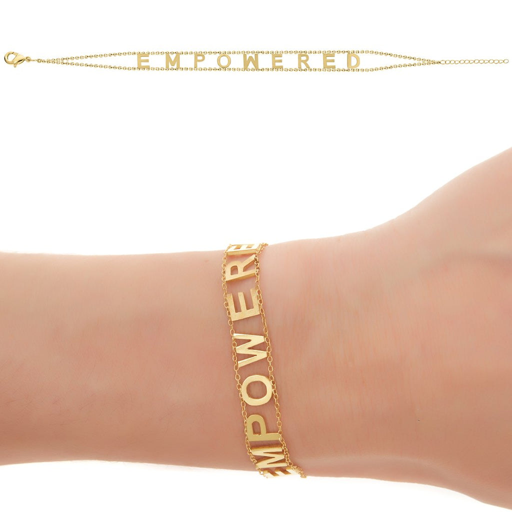 EMPOWERED Bracelet- Yellow