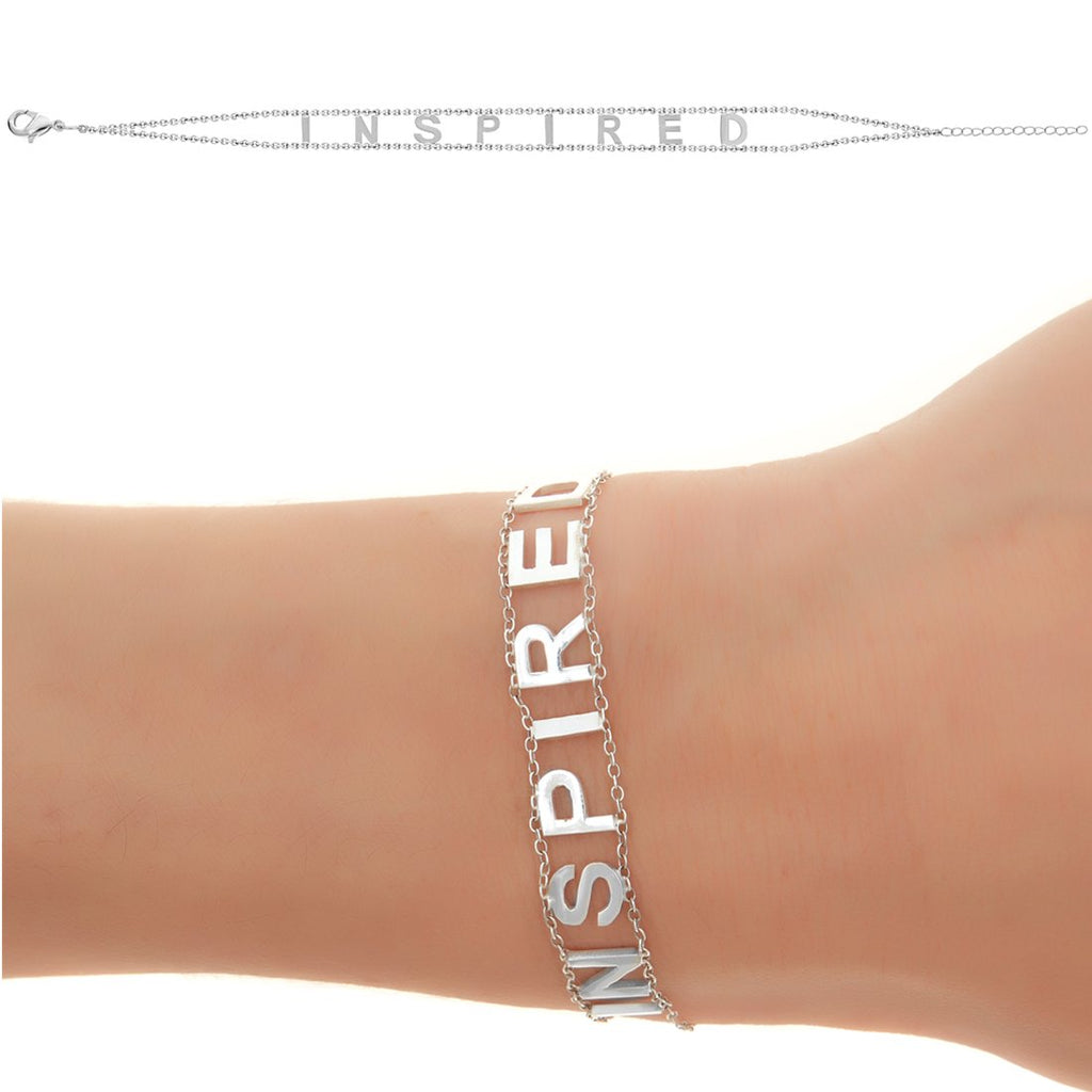 INSPIRED Empowered Bracelet- White