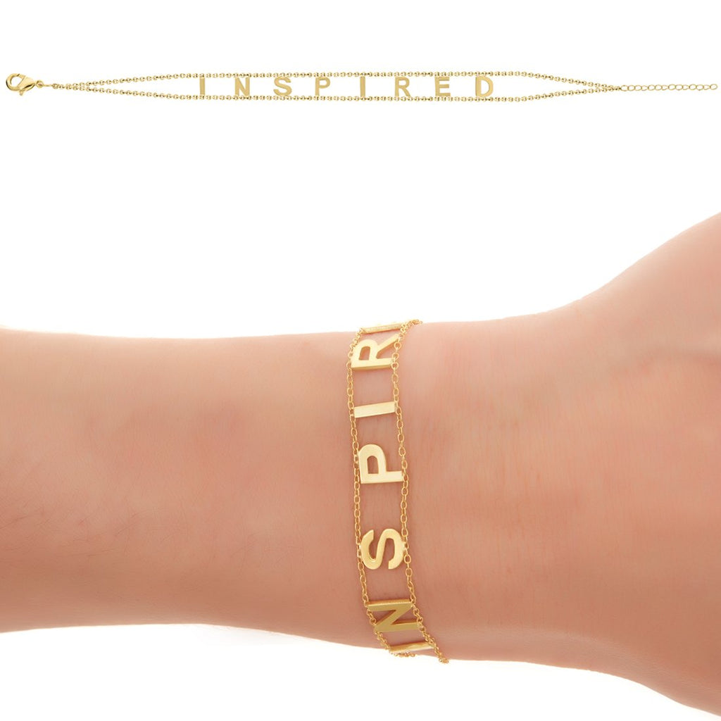 INSPIRED Empowered Bracelet- Yellow