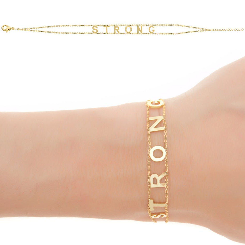 STRONG Empowered Bracelet- Yellow