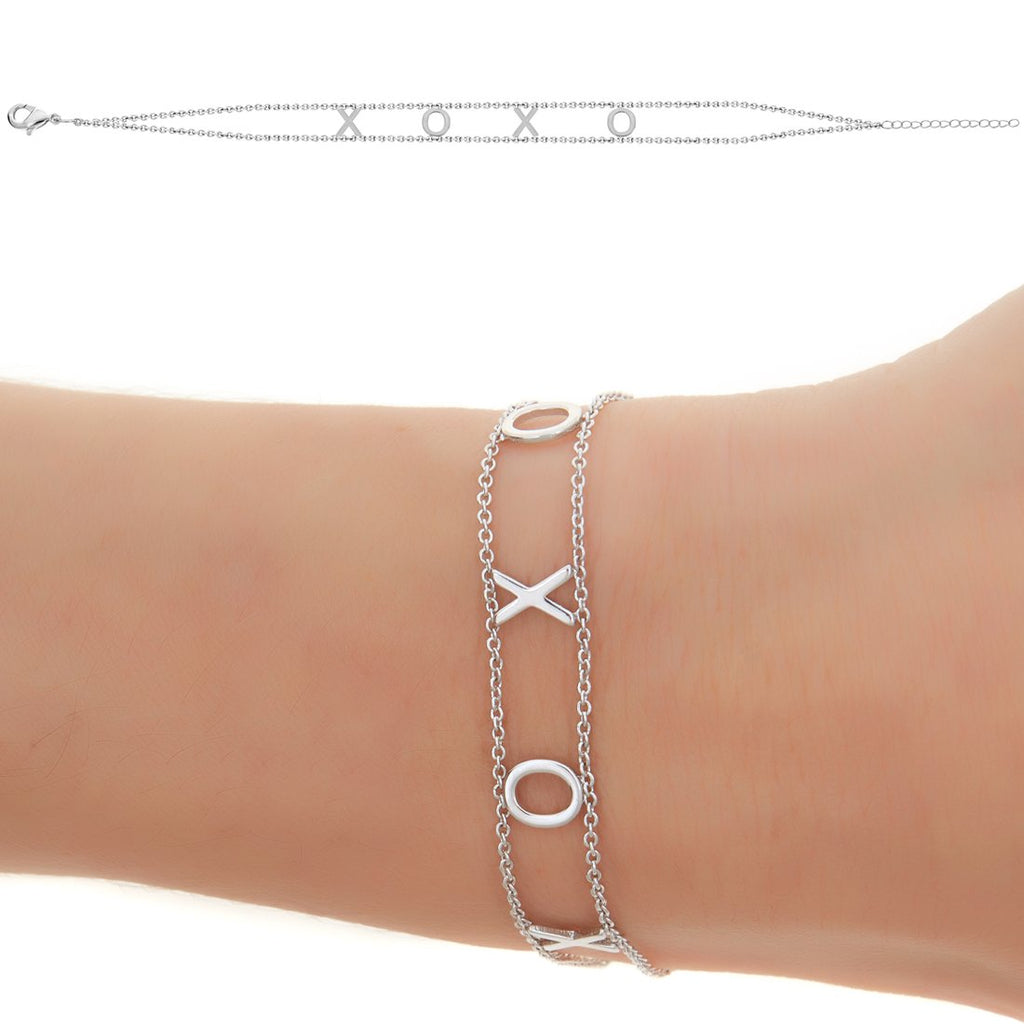 XOXO Empowered Bracelet- White