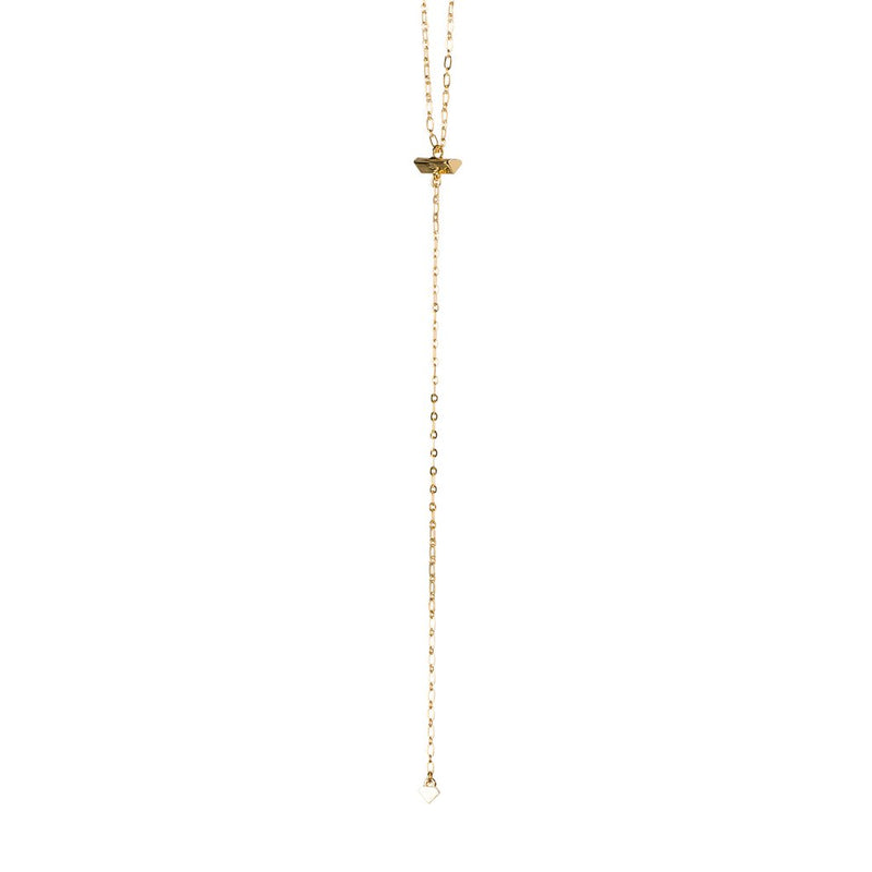 LARIAT DIAMOND NECKLACE
