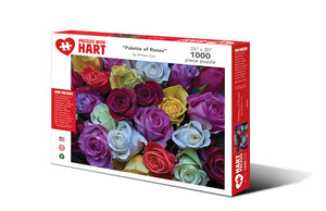 Palette of Roses 1000 PC Puzzle